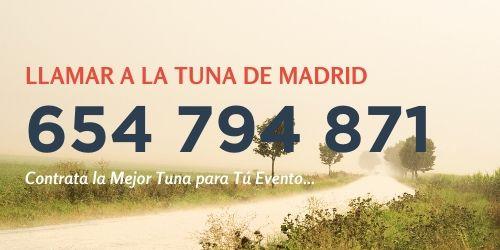 Telefono-contratar-Tuna-Llamar-Madrid